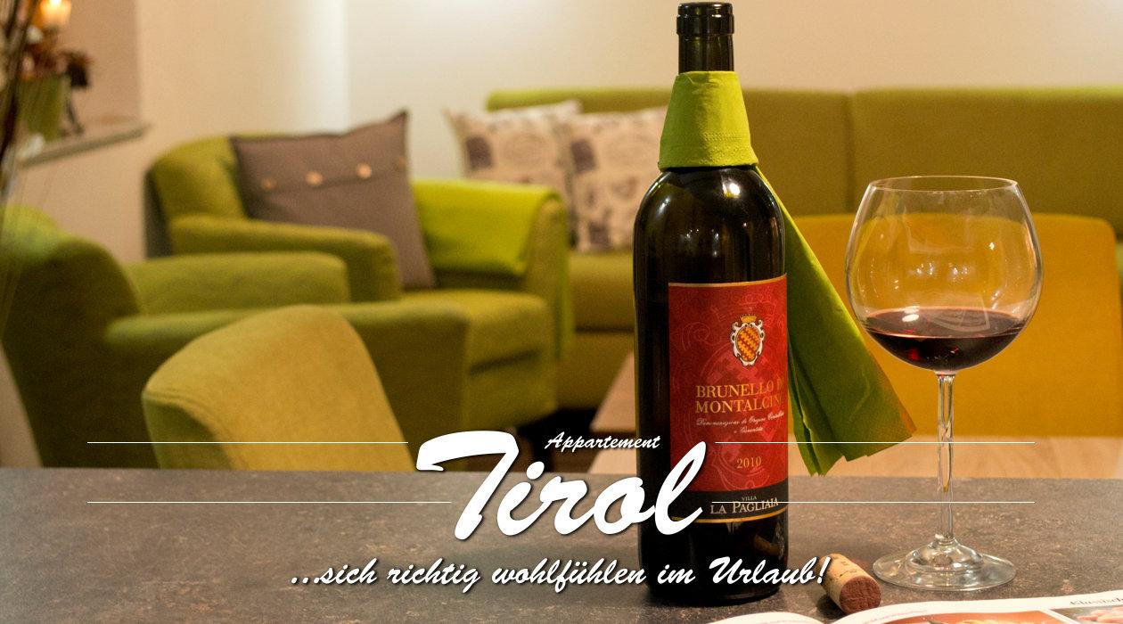 Ferienwohnung Appartment Tirol - Titelbild Detail Küche